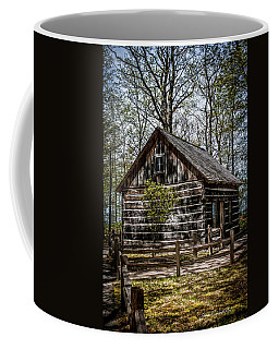 Cozy Cabin Coffee Mug by Joann Copeland-Paul