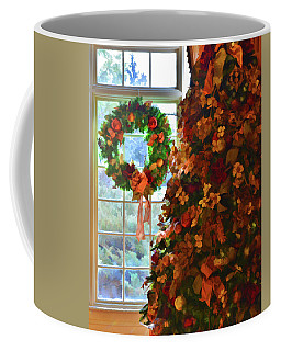 Coffee Mug featuring the photograph Cozy Christmas by Diane Alexander