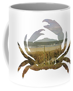 Crab Beach Coffee Mug