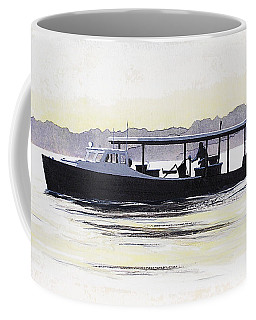 Crab Boat Slick Calm Day Chesapeake Bay Maryland Coffee Mug