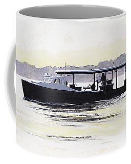 Crab Boat Slick Calm Day Chesapeake Bay Maryland Coffee Mug