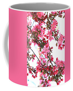 Coffee Mug featuring the photograph Crabapple Beauty by Rick Morgan