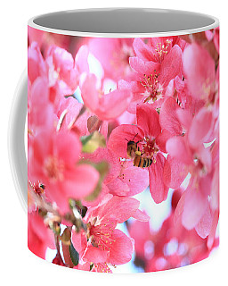 Crabapple Bees 2 Coffee Mug