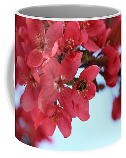 Crabapple Bees Coffee Mug