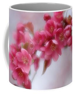 Crabapple Blossom - Dark Pink Coffee Mug