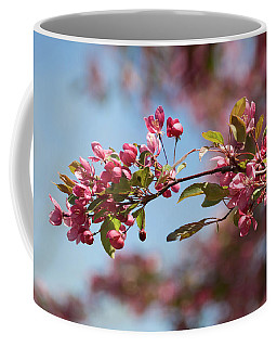 Crabapple In Spring Section 1 Of 4 Coffee Mug