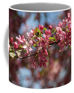 Crabapple In Spring Section 2 Of 4 Coffee Mug