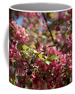 Crabapple In Spring Section 4 Of 4 Coffee Mug