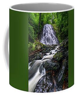 Crabtree Falls North Carolina Coffee Mug