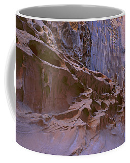 Crack Canyon Blue Wall Coffee Mug