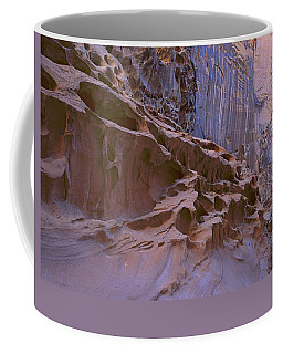 Crack Canyon Blue Wall Coffee Mug