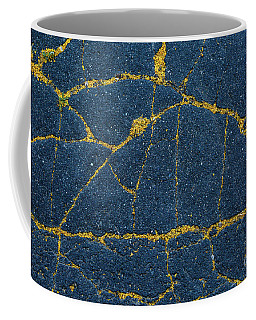 Cracked #5 Coffee Mug