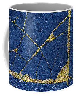 Cracked #8 Coffee Mug