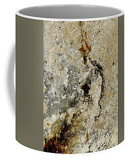 Cracked Concrete And Rust Abstract 3 Coffee Mug