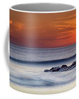 Crackington Haven Sunset, Cornwall, Uk Coffee Mug