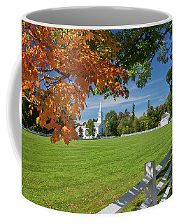 Craftsbury Common Autumn Coffee Mug