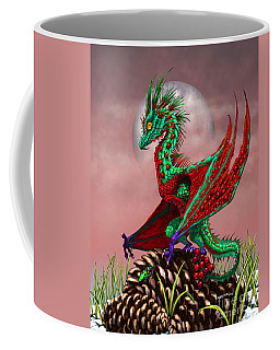 Cranberry Dragon Coffee Mug