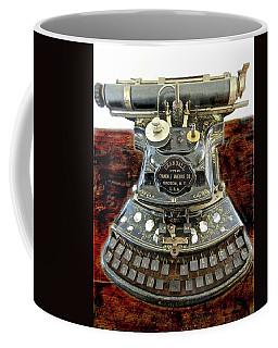 Crandall Type Writer 1893 Coffee Mug