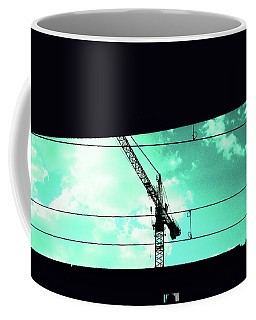 Crane And Shadows Coffee Mug