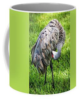 Crane Down Under Coffee Mug
