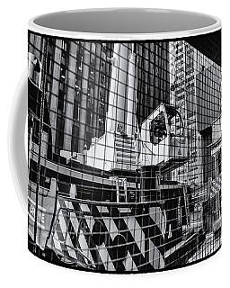 Crane In Manhattan Coffee Mug
