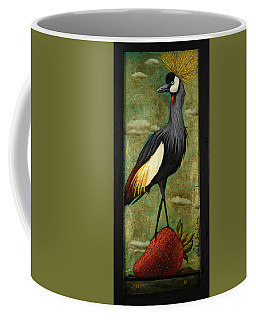 Crane Om A Strawberry Coffee Mug