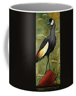 Crane Om A Strawberry Without Edge Coffee Mug