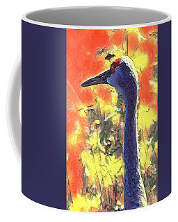 Crane View Coffee Mug