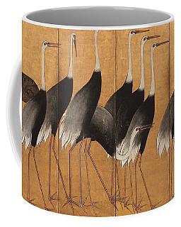 Cranes Coffee Mug by Ogata Korin