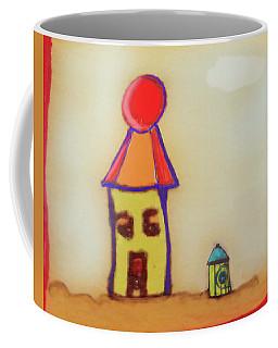 Cranky Clown Cabana And Fire Hydrant Coffee Mug