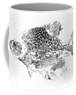 Crappie Abstract Coffee Mug