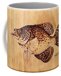 Crappie Coffee Mug by Ron Haist
