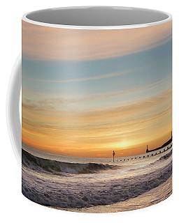 Crashing Waves At Aberdeen Beach Coffee Mug