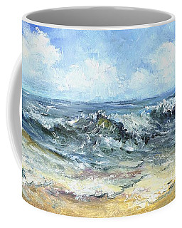 Crashing Waves In Florida  Coffee Mug