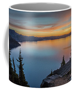 Crater Lake Morning No. 1 Coffee Mug