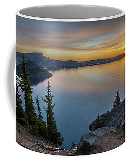 Crater Lake Morning No. 2 Coffee Mug