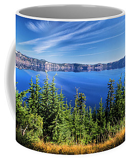 Crater Lake Rim Reflections Coffee Mug