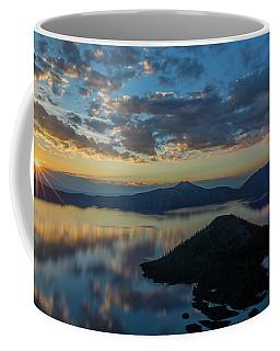 Crater Lake Sunrise Coffee Mug