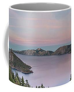 Crater Lake Sunset Coffee Mug