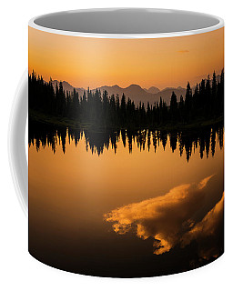 Crater Lake Sunset Coffee Mug