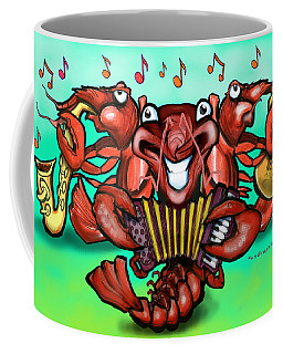 Crawfish Band Coffee Mug
