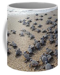 Crawl To The Ocean Coffee Mug