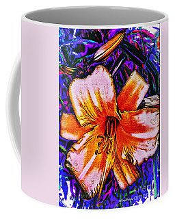 Crazy Day  Lily  Copyright  Mary Lee Parker 17,  Coffee Mug by MaryLee Parker