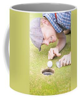 Crazy Golfer Coffee Mug
