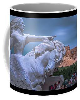 Crazy Horse Memorial Coffee Mug by Mark Dunton