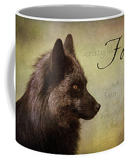 Crazy Like A Fox Coffee Mug