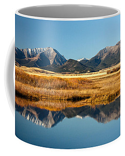 Crazy Mountain Reflections Coffee Mug