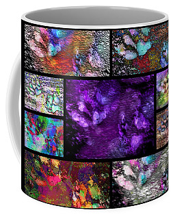 Crazy Paw Print Collage Coffee Mug
