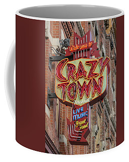 Coffee Mug featuring the photograph Crazy Town by Stephen Stookey