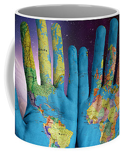 Created By God's Own Hands Coffee Mug
